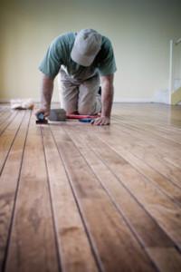 Floor board repair strata unit